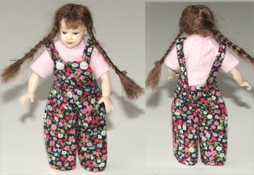 Heidi Ott Girl dungarees and top