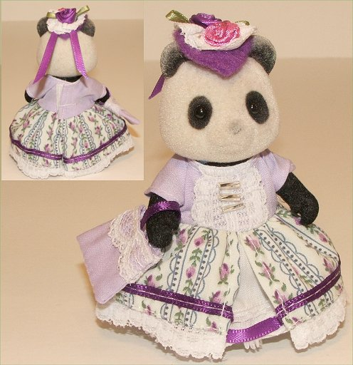 Victorian outfit for Panda Mum