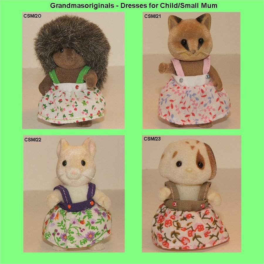 Waste dresses for regular size child or small mum