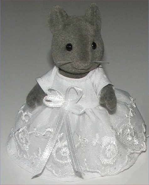 Mouse wedding dress